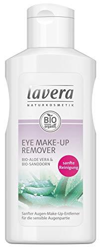 lavera Eye Natural Make-up Remover ∙ Augen Make-up Entferner ∙ Für empfindliche Haut geeignet ∙ Vegan ✔ Naturkosmetik ✔ Natural Make-up ✔ Bio Pflanzenwirkstoffe ✔ 100{c99c78779df73d7d30229ba0e9930dcb2417bb35655ec3d6a624f538f6c387a5} natürlich 3er Pack (3x 125ml)