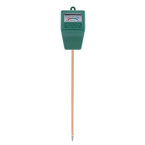 Zerodis Bodenfeuchtigkeitsmesser, tragbar, Bodenfeuchtigkeitstester mit Langer Einsonde, Pflanzen, Blumen, Garten, Erde Test-Kit für drinnen und draußen