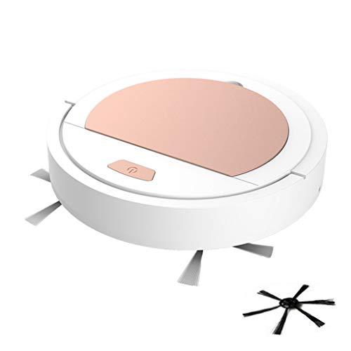 Hniunew Staubsauger Vollautomatisch Kehrroboter Zuhause Mini Intelligente Reinigung Kehrmaschine Saugroboter Wischfunktion Staubsauger Roboter 3.7V 1200Mah Roboterstaubsauger Starkleistung