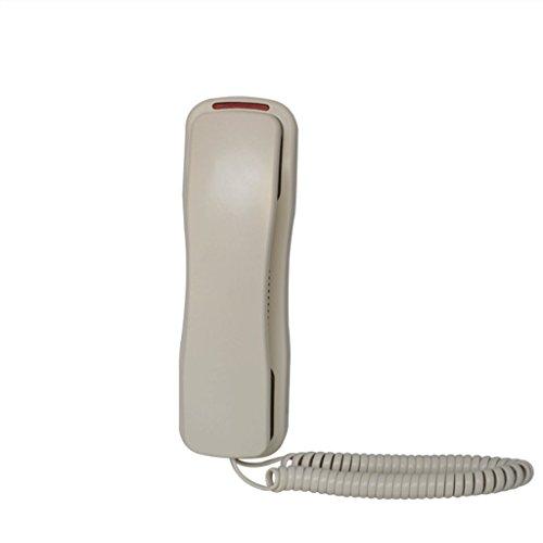 Antique Holz Telefon (DGF Wandbehang Telefon - Creative Home Hotel Nachttischgerät - Griff Leuchttaste 【Energie A ++】 ( Farbe : Ivory ))
