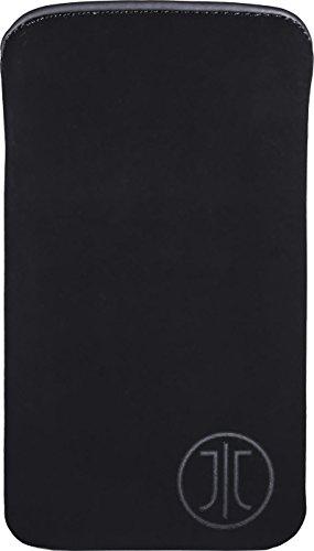 JT Berlin SlimCase Neoprene für Wiko Jimmy, Samsung Galaxy S4, uvm. - Größe XL [SoftTouch Material I EasyCleaning I Super dünn & leicht] - 10001