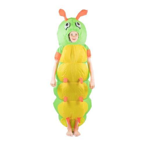 Bodysocks Fancy Dress Kinder Aufblasbares Raupe Kostüm (Caterpillar Kind Kostüm)