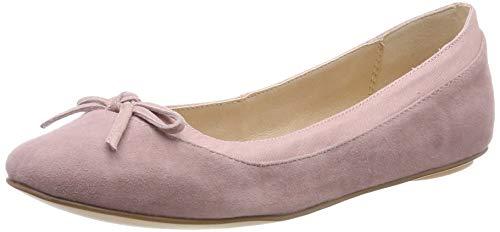 Buffalo Damen ANNELIE Geschlossene Ballerinas, Light Pink 001, 39 EU