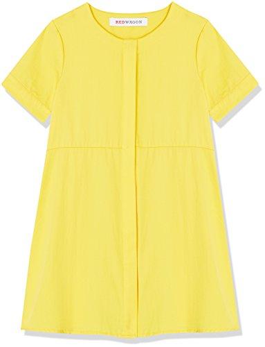 RED WAGON Mädchen Kleid in A-Linien-Form, Gelb (Yellow), 104 (Herstellergröße: 4 Jahre)