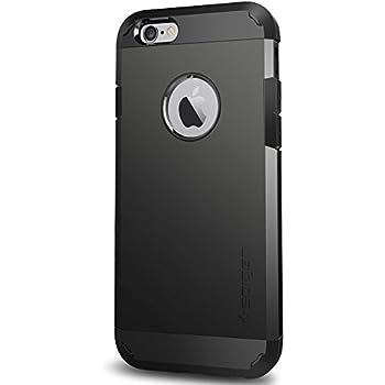 Spigen® - Coque de Protection pour iPhone 6 - Technologie Air Cushion dans les Angles / Protection Double-Couche pour iPhone 6 - Smooth Black (SGP10968)