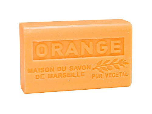 Provence Seife Orange (Orangenduft) - Karité 125g -