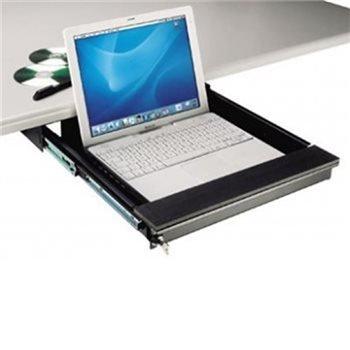 550 Notebook (Laptop Sicherheit Schublade 550mm/55cm schwarz ex-6171b)