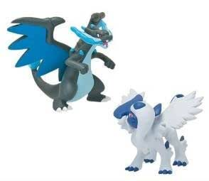Pokemon x y mega shinka evolution vs figure mega lizardon - Mega evolution dracaufeu ...