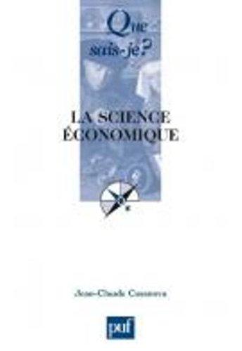 La science économique par Jean-Claude Casanova