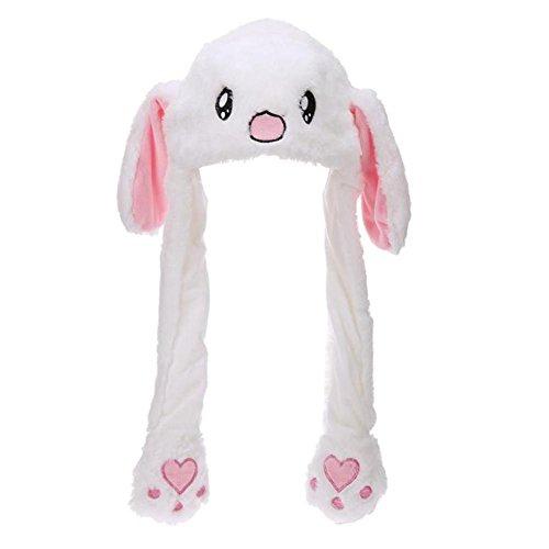 Jungen Kleidung Niedliche Cartoon-tier Kaninchen Plüsch Warme Hüte Mit Ohren Tasche Earflap Lange Schals Wraps Mutter & Kinder