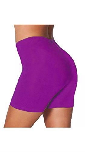 Fashion 4 Less - Short de sport - Femme Violet