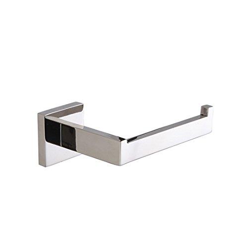 SADASD Europäischen zeitgenössischen Silber 304 Edelstahl Licht Toilettenpapierhalter Bad Zubehör Set (Zeitgenössische Silber Bar)