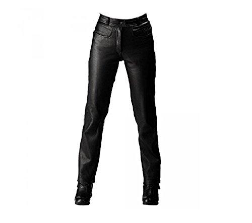 *Roleff Racewear Lederhose, Schwarz, 50*