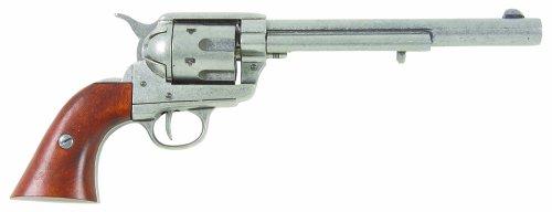 """'storia: Der Colt Single Action Army Revolver è stato anche sotto il nome """"SAA"""", """"Colt .45"""", """"The Equalizer"""" e """"Peace Keeper"""" noto, con il nome di """"The Peacemaker"""" è stato tuttavia weltberuehmt. er potrebbe essere caricato con 6cartucce di calibro 4..."""