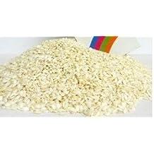Arroz blanco para bodas, antimanchas - Ideal para usar como confeti, 1 kg