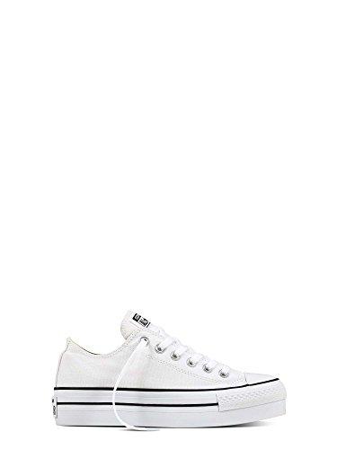 Converse Chuck Taylor All Star Femme Platform Ox 390510 Damen Sneaker Weiß