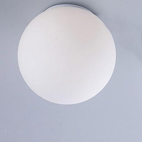 Pumpink Nordic American Simplicity G9 / E27 Verre à l'ombre Simple tête Pendentif Luminaires Lustre Chambre à coucher Balcon Escalier Aile Suspension réglable Lumière innovante Balle de chevet Salon Plafonnier ( Size : M )