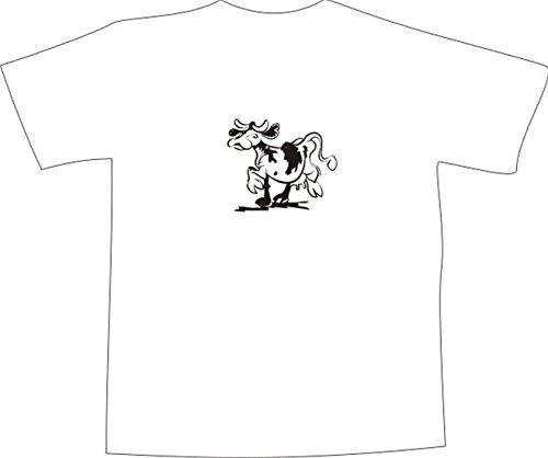 T-Shirt E953 Schönes T-Shirt mit farbigem Brustaufdruck - Logo / Grafik ...
