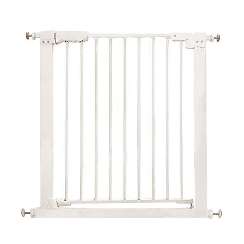 Barrières MAHZONG de Porte intérieure pour Animaux de Compagnie de sécurité pour Porte d'isolation de sécurité intérieure pour Chiens - 76-180cm (Taille : 111-117cm)