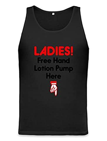 Free Hand Lotion For Ladies Funny Unisex Tank Top XX-Large