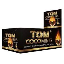 Tomcoco Kiste Shisha Tom COCHA Premium Gold 12 x 9 Stück