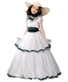 Kinder Belle Kostüm Southern - Southern Belle Costume Child Small