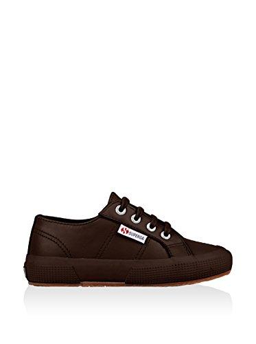 Superga S0024T0 2750-FGLJ WT, Unisex - Kinder Sneaker Full Dk Coffee