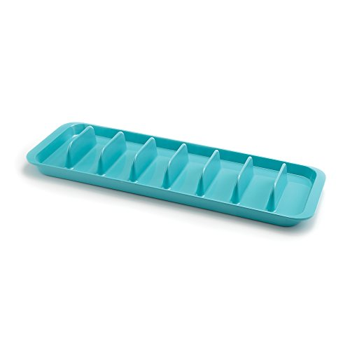 t Taco/Hot Dog Serving Tray Platte Melamin Pacific Blue ()