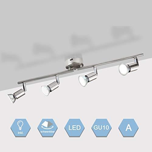 Lámpara de Techo Focos LED GU10 4 * 5.5W Luz de Techo...