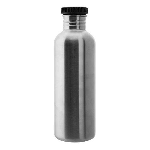 Laken BS100 Botella de Acero Inoxidable Línea Basic Steel, Adultos Unisex