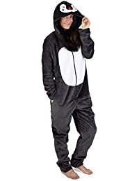 CityComfort Womens Onesie Fleece Twosie Women Pyjamas Jumpsuit for Woman  Rainbow Unicorn Onesies Koala Penguin Cat 633dc7b56
