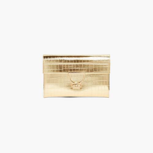 Coccinelle Minibag Arlettis Croco Clutch 19 02 Platino -
