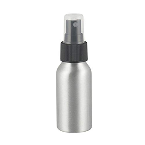 Frcolor Récipients pleins réutilisables pleins de voyage de l'atomiseur de bouteille de jet en aluminium de 50ml