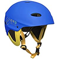 2017 Gul EvoWatersports Helmet BLUE / FLURO YELLOW AC0104-B3