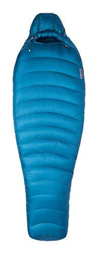 Marmot Women's Wm's Phase 20 Mumienschlafsack, Ultra-Leichter und Warmer Daunenschlafsack, speziell für Damen, 850er Gänsedaunenfüllung, ideal zum Camping und Trekking, Galaxy, Normal: 168 cm