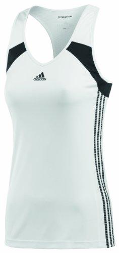 Adidas débardeur response pour femme Blanc - Blanc/Noir