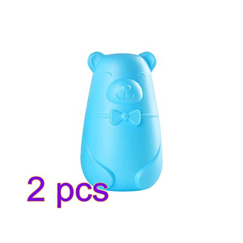 VIMOER Haushalt automatische WC-Reiniger Cute Bear WC-Reinigungssystem Antibakterielle Bleichmittel für das Badezimmer