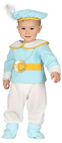 Baby Jungen Süß Blau Prinz Royalty Märchen Welt Fancy Kinderzimmer Verkleidung Kostüm Kleidung 6-12-24 Monate - Blau, 12-24 Months