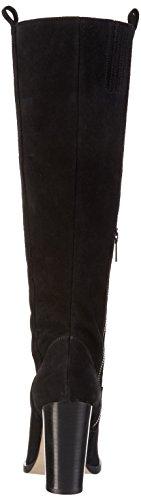 Sofie Schnoor Damen Long Boot Langschaft Stiefel Schwarz (Black)