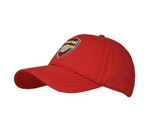 Unbekannt Offizielle Fußball Team Baseball Kappe (Verschiedene Mannschaften zur Auswahl.) alle mit Offiziellen Club Shop Tags, Herren, Arsenal (Red Core), einheitsgröße - Fc Arsenal-fußball-hut