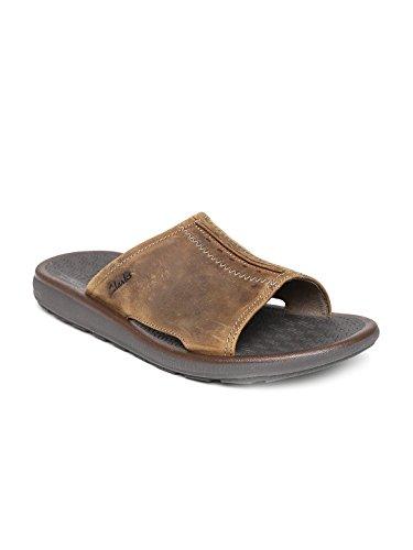 Clarks-Men-Tan-Brown-Sandals