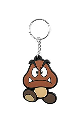 Nintendo Porte-Clés Keychain Goomba officiel nouveau Rubber
