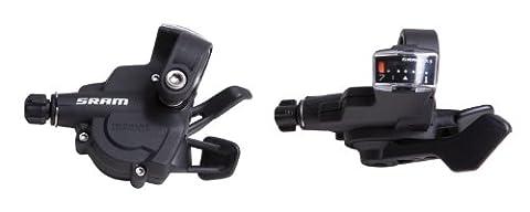 SRAM 1:1 MTB Schalter X.3 Trigger-Set, Schwarz, 00.7015.093.030