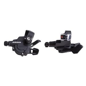 Sram 1:1 MTB Schalter X.3 Trigger-Set, Outdoor_Recreation_Product Uomo, Nero (Schwarz), 7 3 velocità
