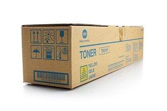 Konica Minolta A0D7251 Bizhub C353 Toner, TN314Y, 20000 Seiten, gelb (Toner Gelb Konica)
