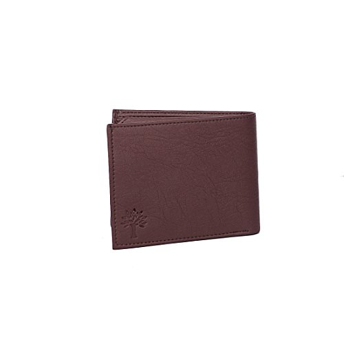 Woodland Brown Color Leather Men's Wallet  available at amazon for Rs.290
