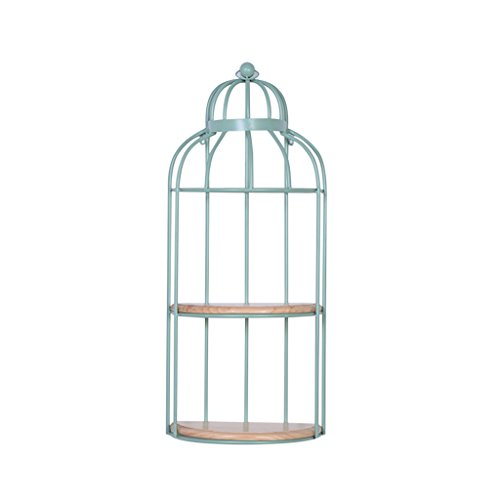 QFF Wall Hanging Shelf, Birdcage...