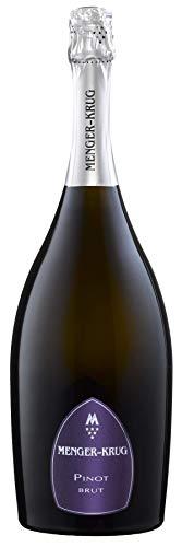 MENGER KRUG Sekt Pinot Brut (1 x 1.5 l) ǁ Magnum ǀ große 1,5l Flasche ǀ traditionelle Flaschengärung ǀ geprägt von Weißburgunder & hell gekeltertem Spätburgunder ǀ körperreich & fein strukturiert - Groß Krug