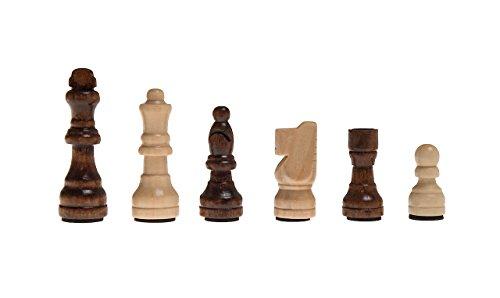 Schachfiguren-Franz-KH-64-Holz-magnetisch-im-Polybeutel