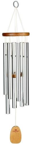 Woodstock Windspiel Gregorian Alto, Silber, 73,7 cm